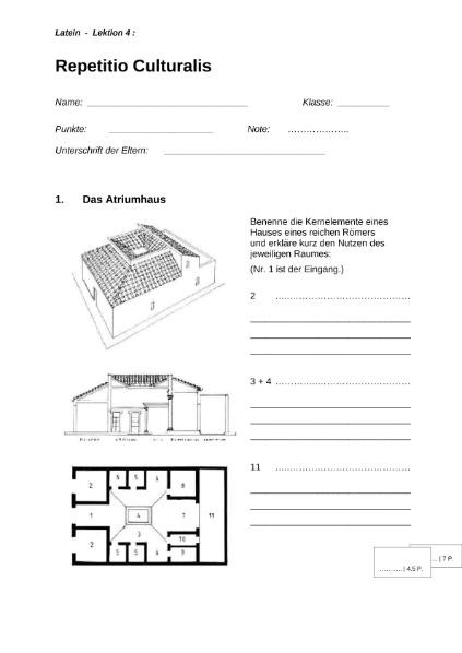 ungew hnlich das alte rom arbeitsblatt fotos mathe arbeitsblatt. Black Bedroom Furniture Sets. Home Design Ideas