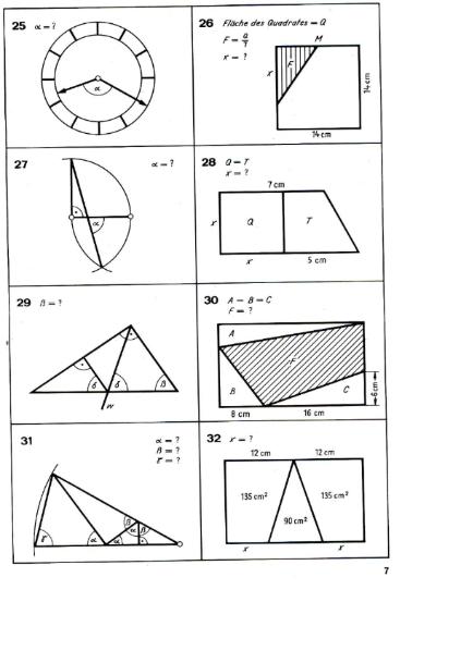 Dreiecke - 4 / Mathematik / Geometrie / SchulArena.com ...