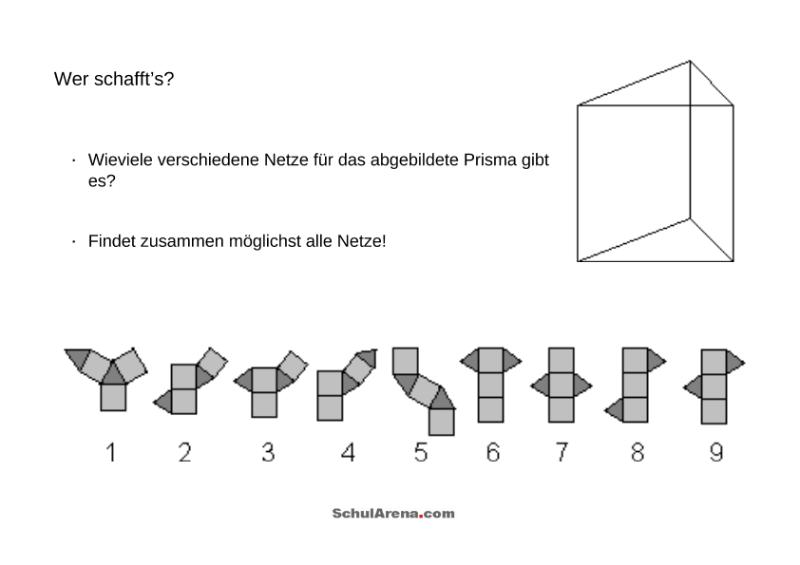 Prisma / Mathematik / Geometrie / SchulArena.com Unterrichtsmaterial ...
