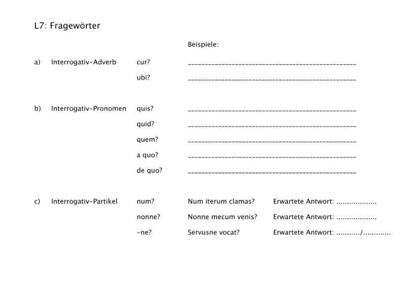 Sprachen / Latein / SchulArena.com Unterrichtsmaterial und ...