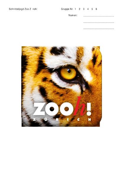 Schnitzeljagd durch den Zoo Zürich / Rund um die Schule ...