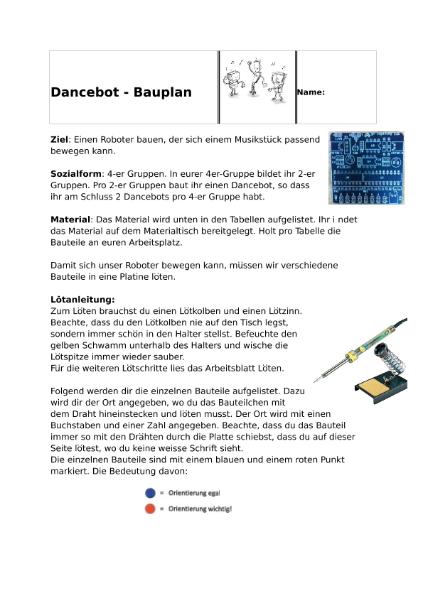 Dancebots - selber bauen und programmieren / Natur - Mensch ...