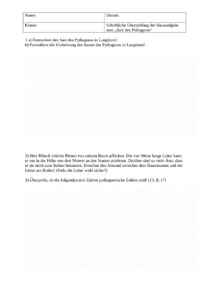 Mathematik / SchulArena.com Unterrichtsmaterial und Arbeitsblätter