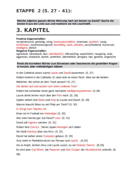 Sprachen / Deutsch / Lesen und Verstehen / Klassenlektüren - Bücher ...