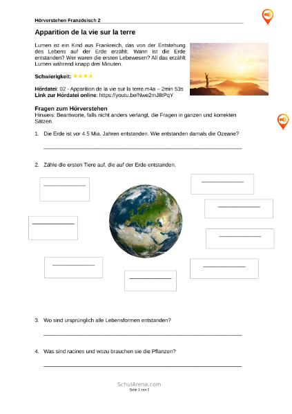 Sprachen / Französisch / SchulArena.com Unterrichtsmaterial und ...