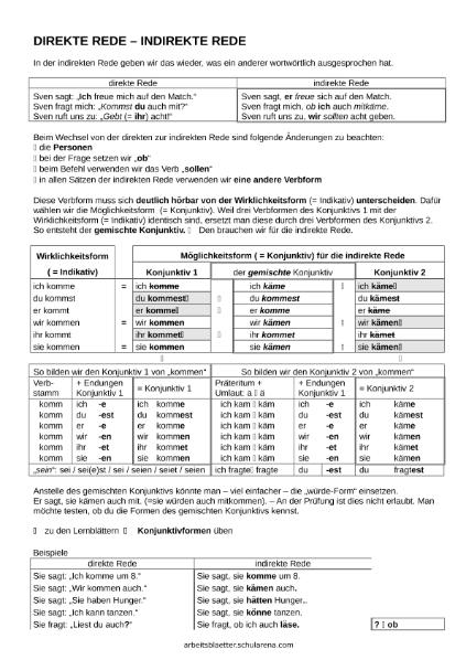 Niedlich Direkte Und Indirekte Objekte Arbeitsblatt Zeitgenössisch ...