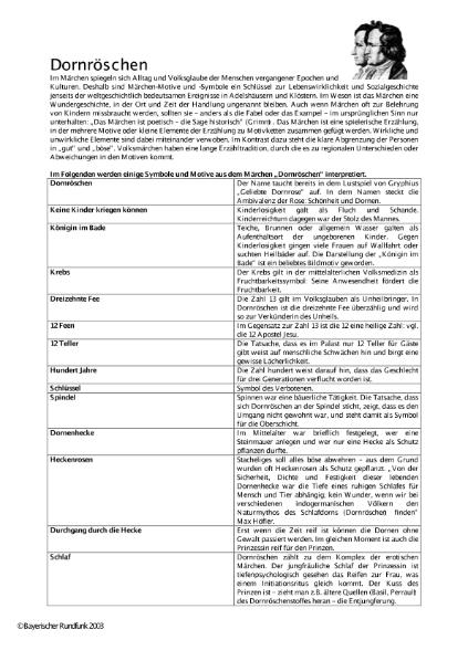 Gebrüder Grimm 3 / Sprachen / Deutsch / SchulArena.com ...