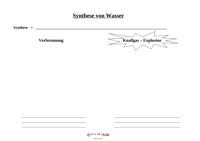 Natur - Mensch - Gesellschaft / Chemie / SchulArena.com ...