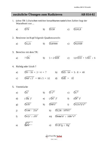 Erfreut Erweiterte Algebra Arbeitsblätter Ideen - Arbeitsblätter für ...